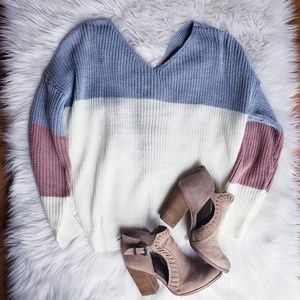 Sweaters - ✨ RESTOCKED✨ FOLLOW YOUR HEART KNIT SWEATER